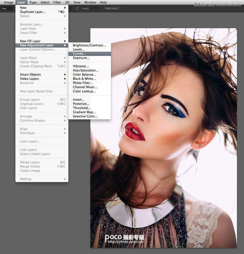 Photoshop调出人像照片自然舒适的肤色,PS教程,思缘教程网