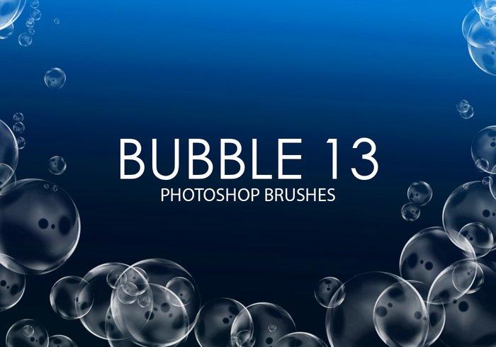 透明的气泡和泡泡ps笔刷