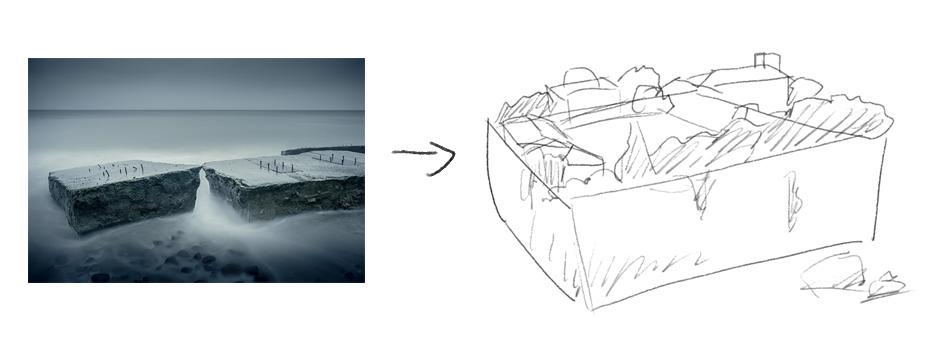 Photoshop簡單解析創意的場景合成原理分析