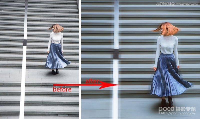 Photoshop调出人像照片后期甜美日系效果,PS教程,思缘教程网