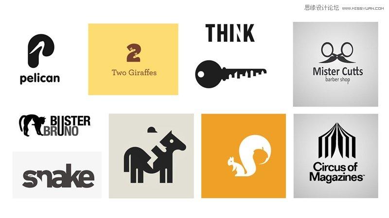 最全的12个logo设计风格总结分享,ps教程,思缘教程网