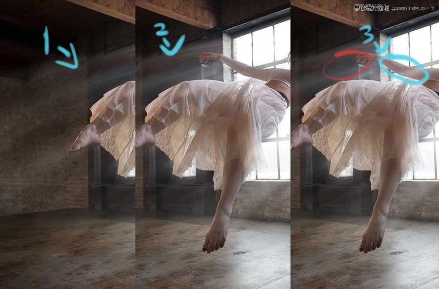 photoshop详解室内悬浮人像后期处理教程(2)