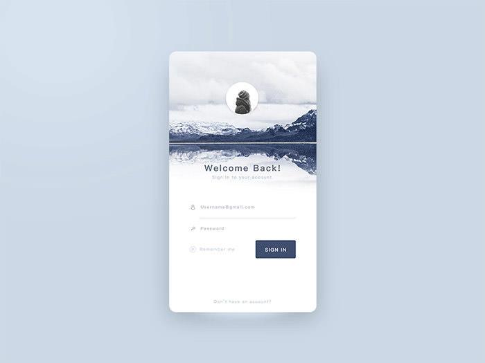 50款手机登录和注册界面ui设计欣赏