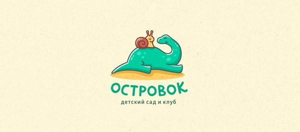 30款以恐龙为设计元素的logo设计欣赏