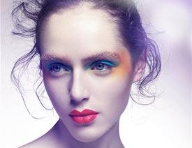 皮膚精修,給時尚大片的模特是怎樣修圖的