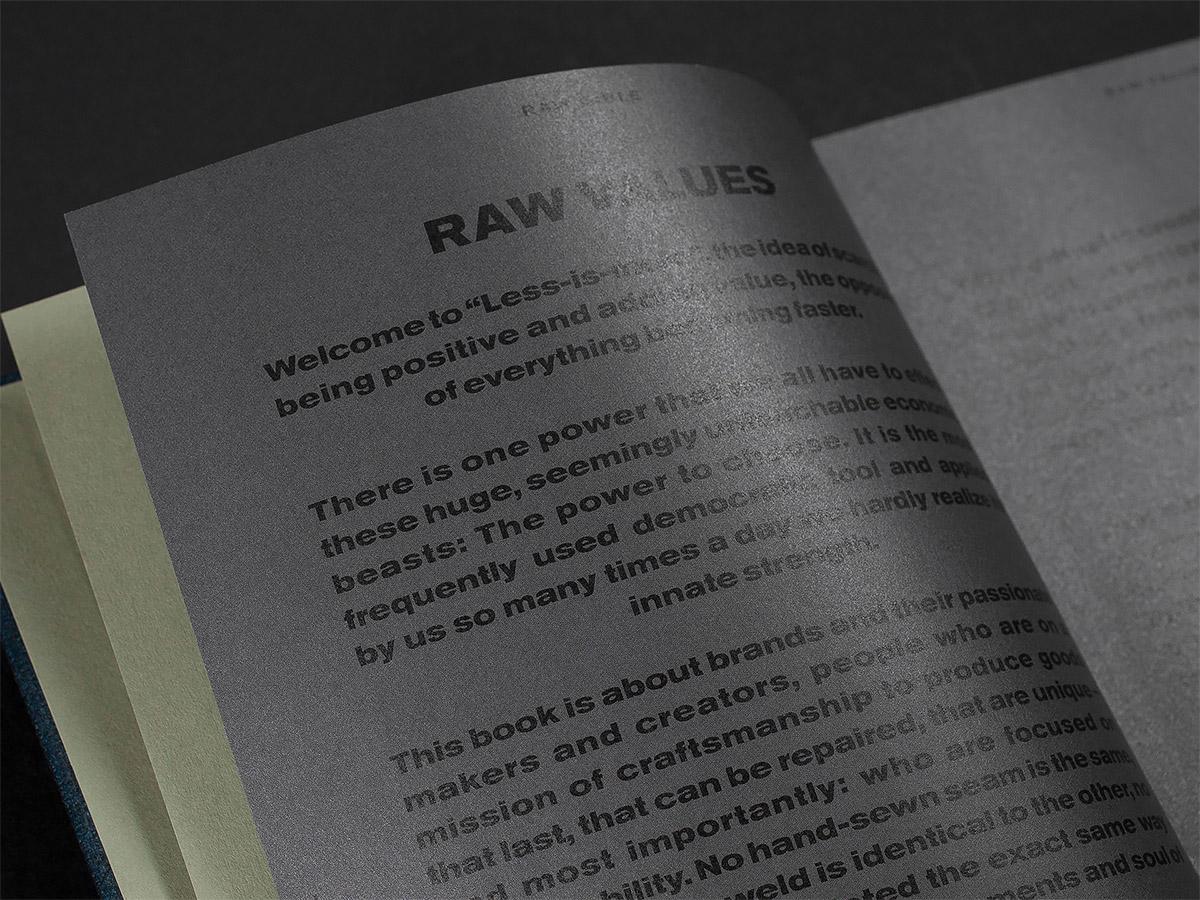 Raw Bible優秀的畫冊設計欣賞