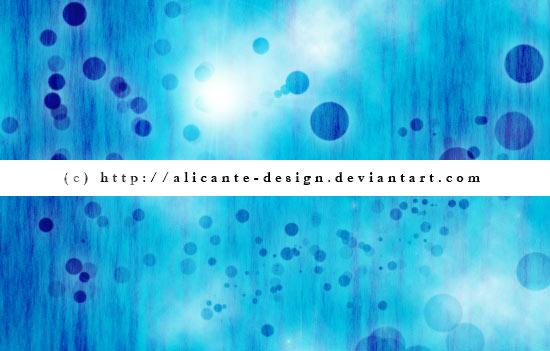 蓝色主题光斑背景PS笔刷