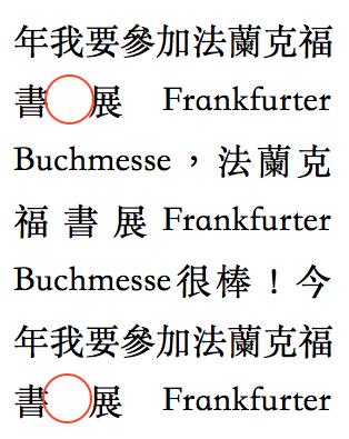 詳細解析網頁排版中字體排版使用規則