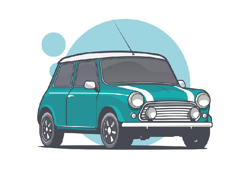 Illustrator绘制矢量风格的小汽车教程,PS教程,思缘教程网