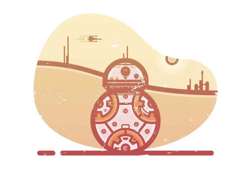 Illustrator绘制科幻电影中的机器人,PS教程,思缘教程网