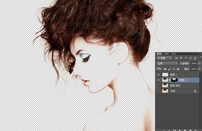 Photoshop製作唯美的人像二次曝光效果