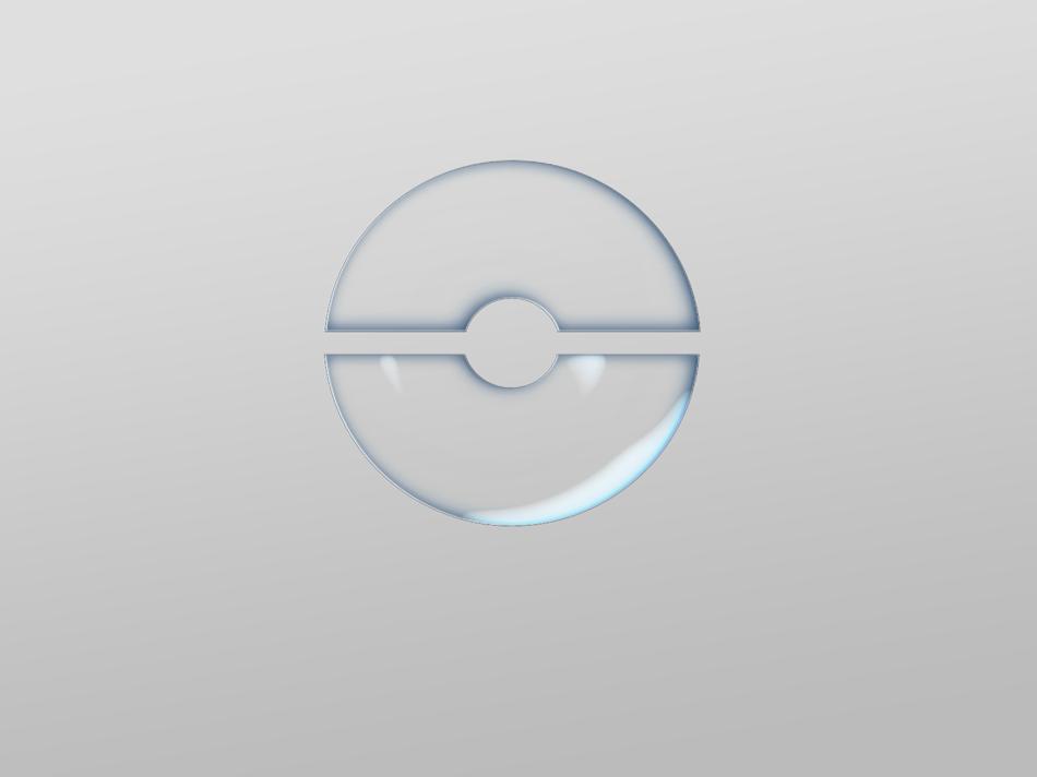Photoshop繪製透明你風格的水晶球效果