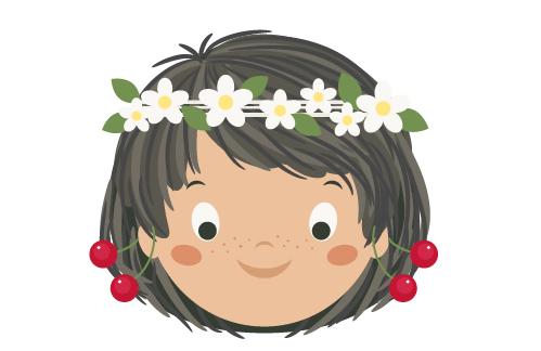 illustrator绘制可爱的吃瓜女孩插画教程(2)