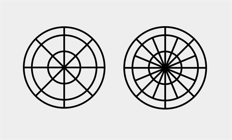 Illustrator繪製簡約的線條裝飾風格海報
