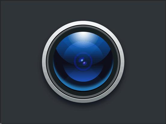 Photoshop繪製立體風格的相機圖標教程