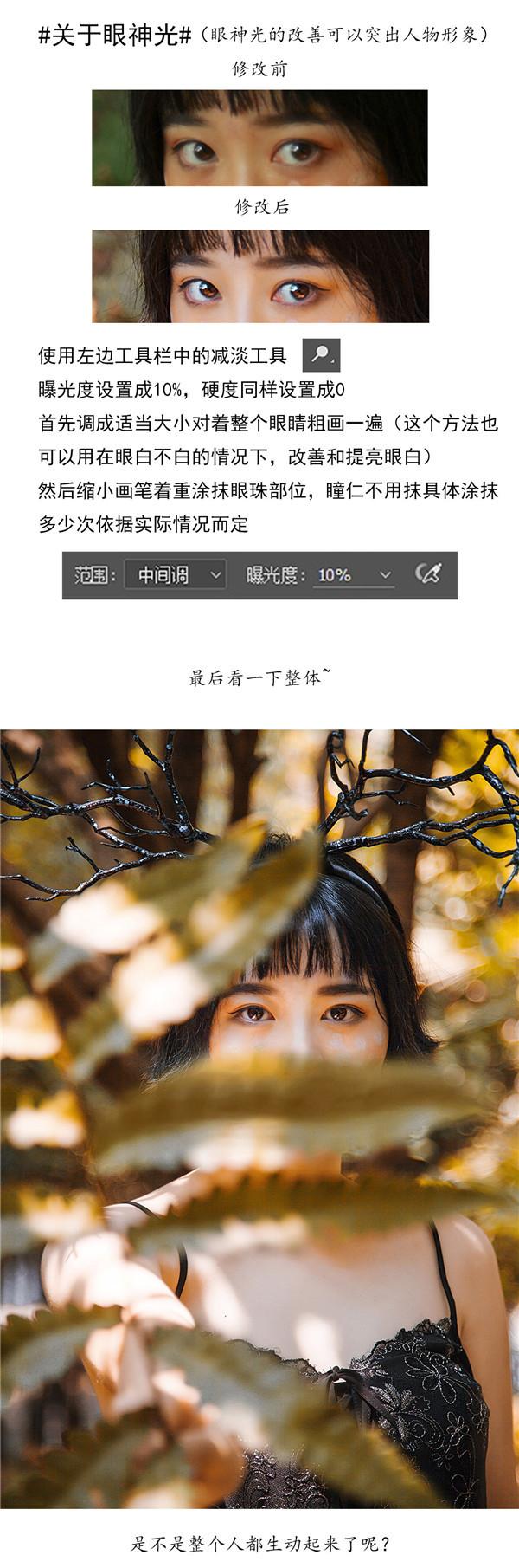 思缘论坛 powered discuz by board/[PS调色] Photoshop调出森林外景人像秋季金黄色效果