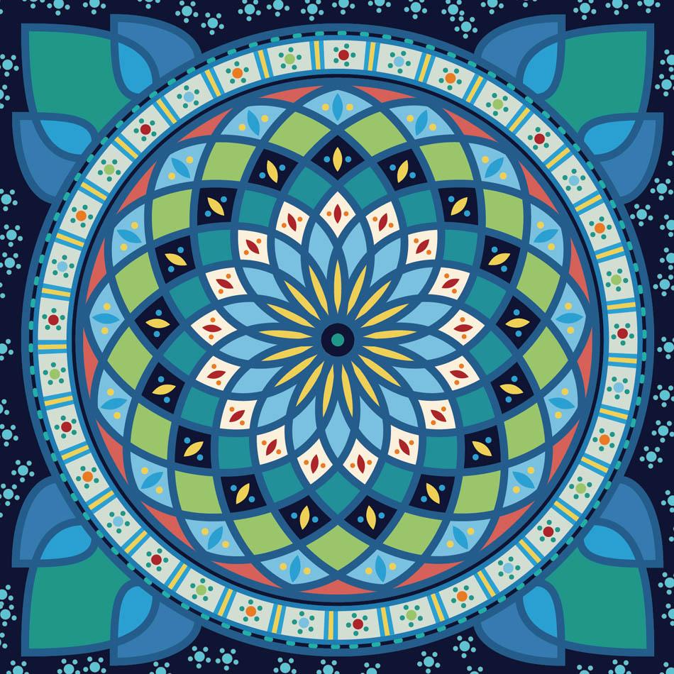 Illustrator绘制创意的万花筒花朵图形,PS教程,思缘教程网