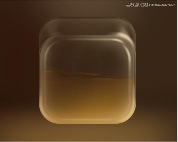 Photoshop繪製立體風格的透明塑料袋圖標