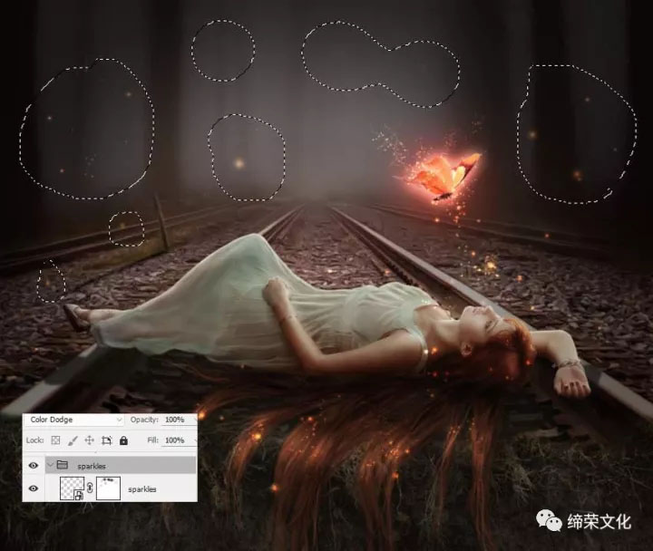 Photoshop合成唯美主題風格的長發公主