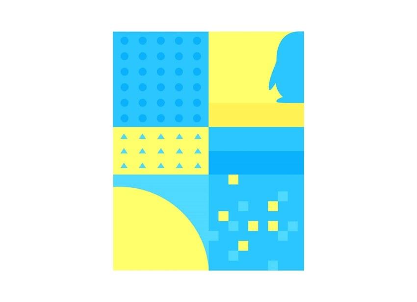 图形元素 视觉延展的图形元素来源并不是凭空捏造的,图形元素需要与