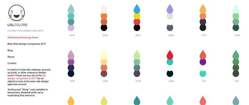 7個在線配色神器幫助您尋找配色靈感