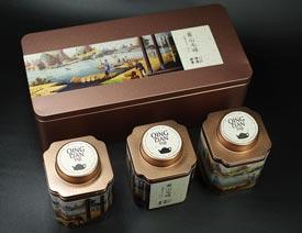 时尚大气的如意罐茶叶包装设计欣赏