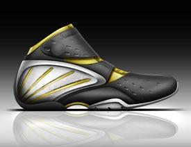 PS鼠绘绘制有凹陷图案风格运动鞋的Photoshop教程