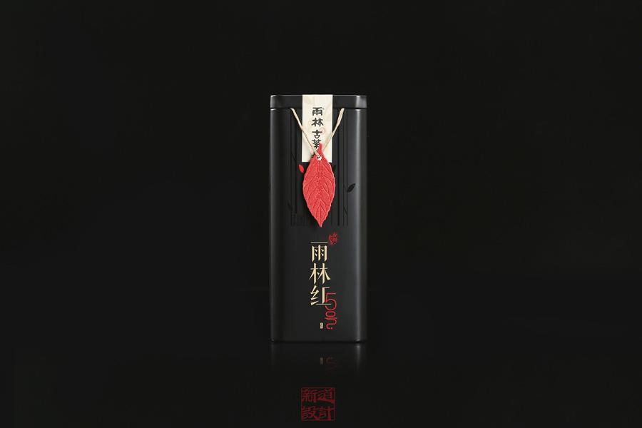 中式主题雨林古树红茶包装设计欣赏,PS教程,思缘教程网