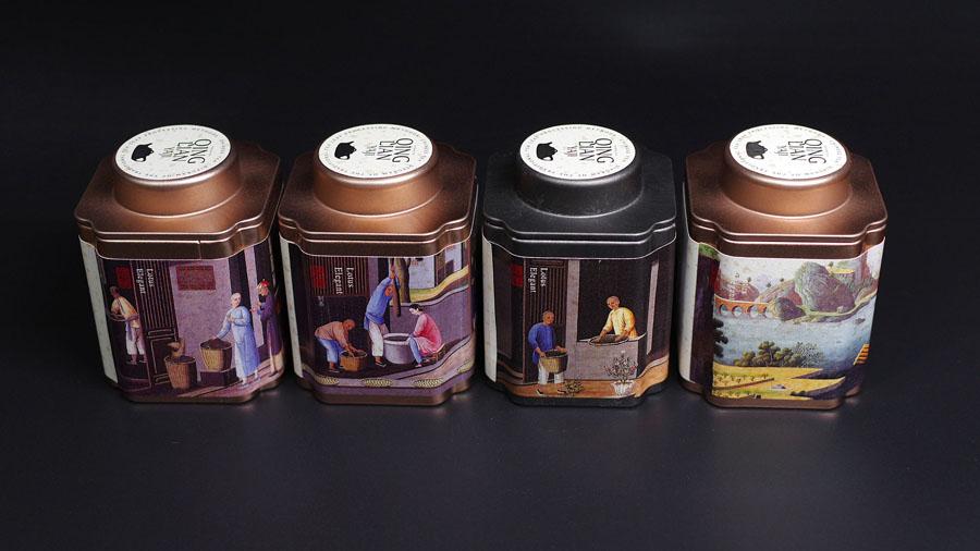 时尚大气的如意罐茶叶包装设计欣赏,PS教程,思缘教程网
