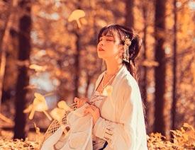 PS调色调出秋季黄色调效果人像照片的Photoshop教程