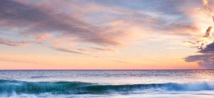 photoshop给铁轨照片添加夕阳黄昏美景效果