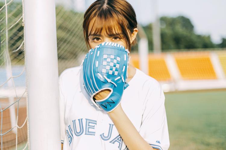 《棒球少女》夏季小清新摄影作品欣赏,PS教程,思缘教程网