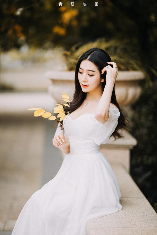 深秋外景新娘唯美暖黄色作品欣赏,PS教程,思缘教程网