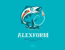 40款以鱼为设计元素的LOGO作品欣赏