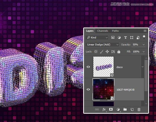 Photoshop巧用3D工具繪製絢麗的立體字