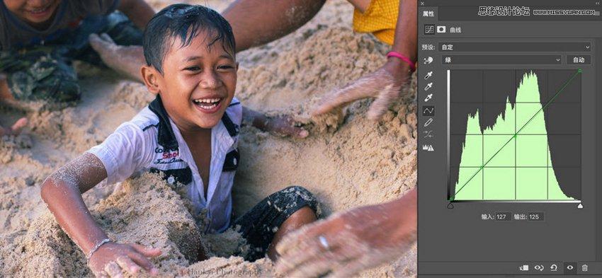 Photoshop详解曲线工具在后期中的调色原理,PS教程,思缘教程网