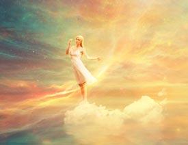 澳门永利官方娱乐网站合成绚丽空中翱翔的仙子【英】