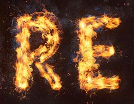 澳门永利官方娱乐网站设计火焰燃烧艺术字教程【英】