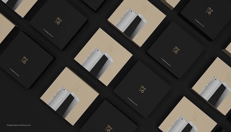 简约时尚的手机产品保障设计欣赏,PS教程,思缘教程网