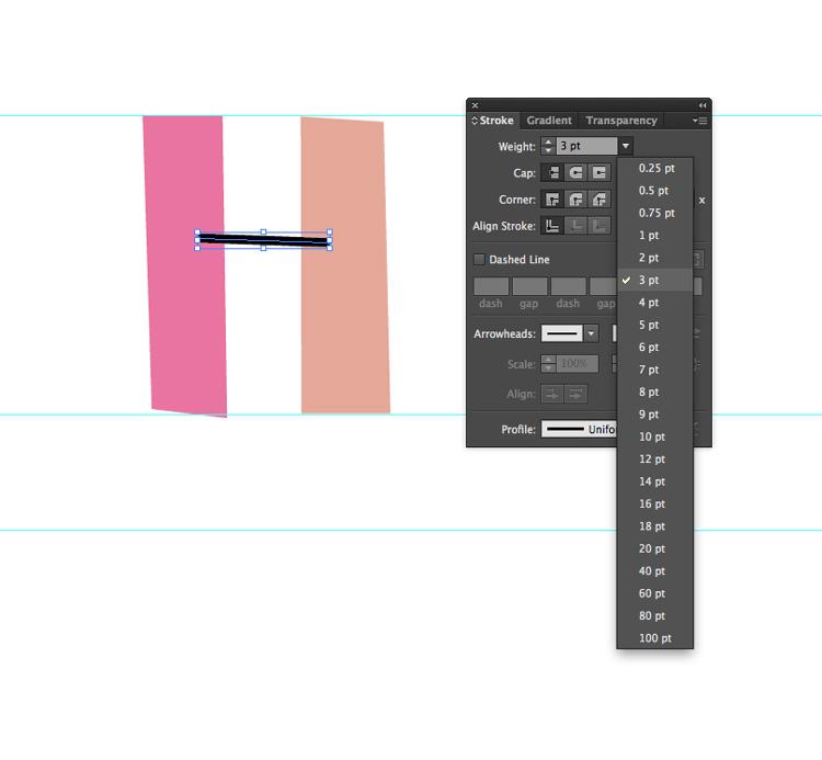 Illustrator繪製復古風格的手繪藝術字教程