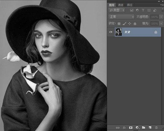 photoshop合成复古风格的二次曝光效果