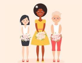 Illustrator绘制时尚风格的人像插画