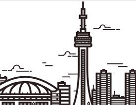 Illustrator绘制线描风格的城市插图教程