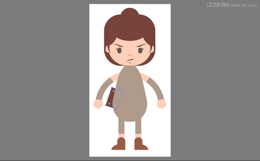illustrator绘制卡通风格的星球大战角色人物 - 矢量