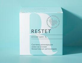 简约风格Restet化妆品包装设计欣赏