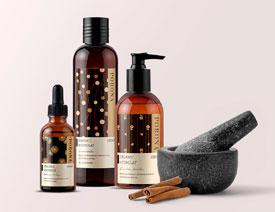 国外护肤品牌PORONA包装设计欣赏