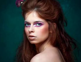 2017最新注册送白菜网给俄罗斯美女人像增加质感肤色