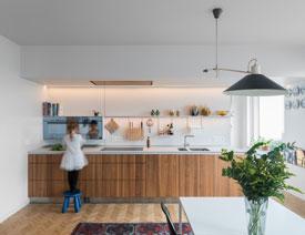 50款漂亮的开放式厨房设计欣赏