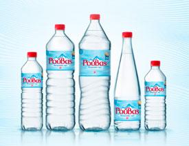 蓝色主题Rouvas矿泉水包装设计欣赏
