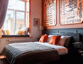 圣彼得堡特色主题民宿装修设计欣赏